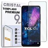 Protector de Pantalla para TCL 10 5G, Cristal Vidrio Templado Premium