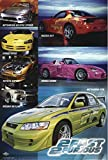 The Fast and The Furious 2 Poster Collage Cars (68,5cm x