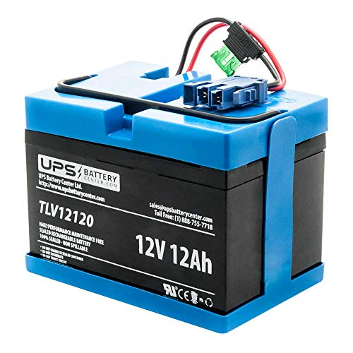 UPSBatteryCenter Compatible 12V Replacement Battery for Peg...