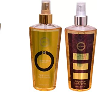 Armaf EDITION ONE FEMME + SHADES WOOD Body Mist - For Men & Women (500 ml, Pack of 2)