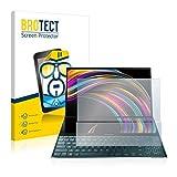 BROTECT Schutzfolie kompatibel mit Asus ZenBook Duo UX481FL klare Bildschirmschutz-Folie