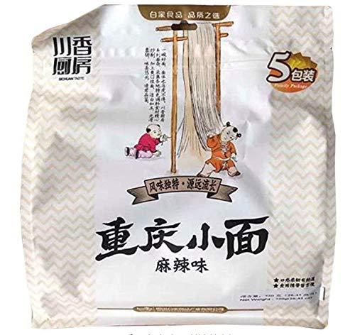 川香厨房重慶小面 麻辣味 インスタント麺 重?小面 5食×3点