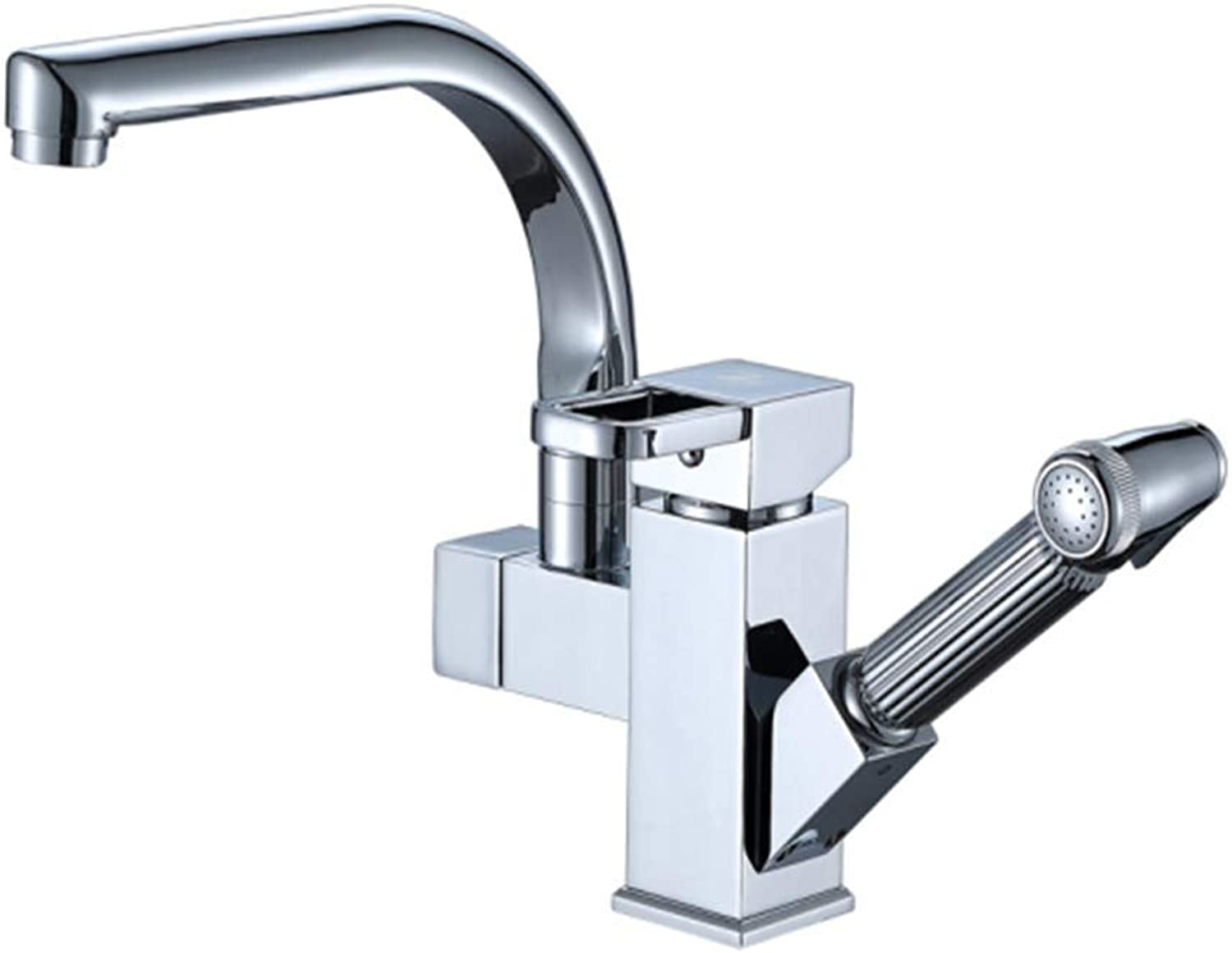 Kitchen Taps Faucet Modern Kitchen Sink Taps Stainless Steelfaucet Pumping Faucet Cold and Hot Basin Faucet Kitchen Faucet Bathroom Faucet Faucet Sink Faucet