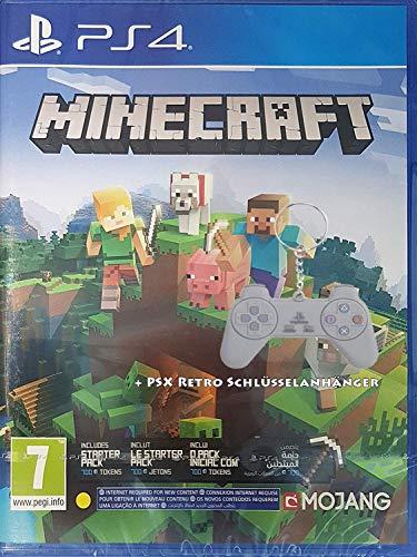 Minecraft Bedrock Edition (Neue Edition) + PSX Retro Keychain (Deutsche Sprache)