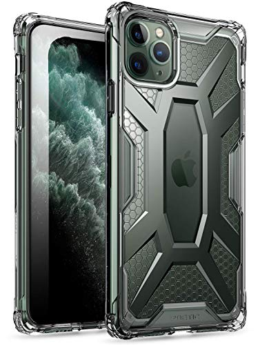 Poetic iPhone 11 PRO Max Custodia, Protettiva Ibrida Trasparente, Robusta e Leggera, Serie Affinity Custodia per Apple iPhone 11 PRO Max 6.5 inch,Chiaro