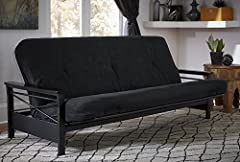 """Foam and polyester layering between cover and coils offer optimal comfort and support. 6"""" coil futon mattress with a lavish tufted microfiber cover Fits any standard full-sized futon frame Foam in this mattress is made without PBDEs, TDCPP or TCEP (""""..."""