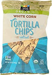 365 Everyday Value, Organic White Corn Tortilla Chips, Salted, 12 oz