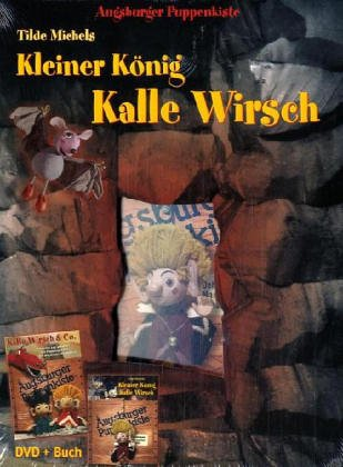 Augsburger Puppenkiste. Kleiner König Kalle Wirsch, DVD mit Buch