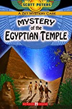 MYSTERY OF THE EGYPTIAN TEMPLE: Kids Historical Adventure (Kid Detective Zet)