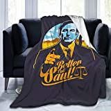Better Call Saul Throw Blanket for Couch Cozy Lightweight Bed Blankets Super Soft Perfect for Child Adults Outdoor Travel Warm Quilt 50'x40'