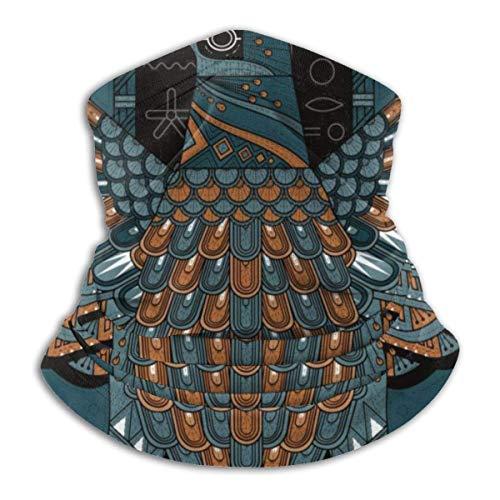Elegante Adler Malvorlagen In Ägypten Stil Halswärmer Winterschal