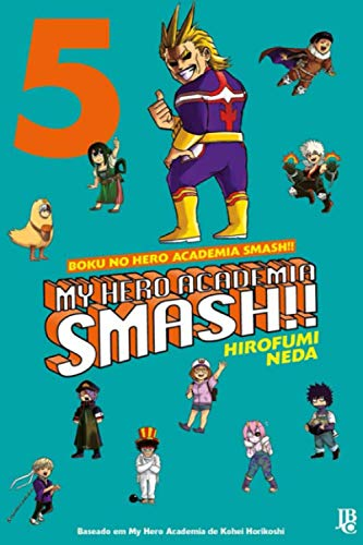 """Composition Notebook: My Hero Academia Smash Vol. 5 Anime Journal-Notebook, College Ruled 6"""" x 9"""" inches, 120 Pages"""