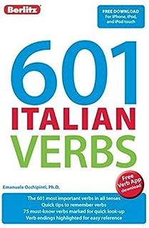 Best 500 italian verbs Reviews