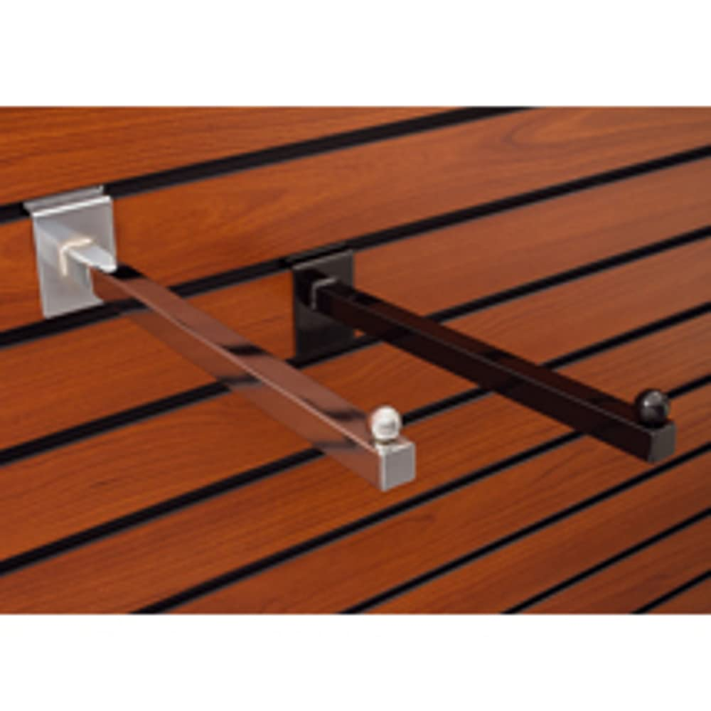 Slatwall Square Gifts Faceout Bracket Max 81% OFF 12 in Inches Black