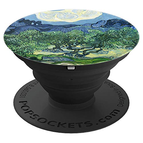 The Olive Trees Painting Art Vincent Van Gogh Pop Mount Grip PopSockets Grip and
