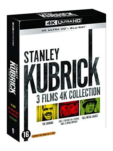 Coffret kubrick 3 films : full métal jacket ; shining ; 2001, l'odyssée de l'espace 4k ultra hd