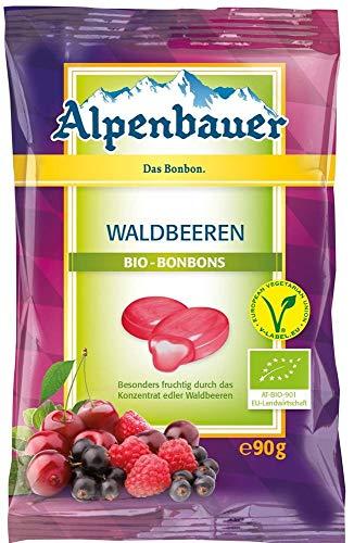 Süßigkeiten mit Waldfruchtaroma vegan BIO 90g - Alpenbauer