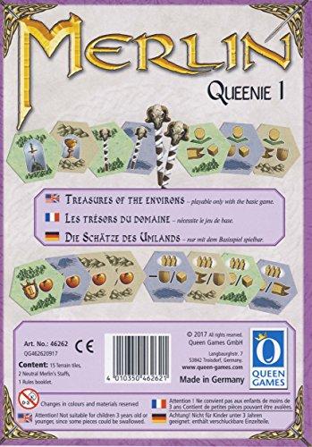 Queen Games 46262 - Merlin Queenie 1: Die Schätze des Umlandes