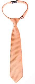 Retreez Woven Pre-tied Boy's Tie with Stripe Textured - Various Colors