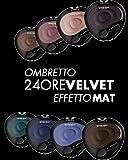 Deborah Sombra Mono 24h Velvet Efecto Mat 67, maquillaje y Cosmetica Ojos–100ml