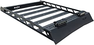 N-FAB T102MRF Textured Black Roof Rack; Aluminum Modular Roof Rack Toyota 4 Runner Fits all styles 4 Door 10-18