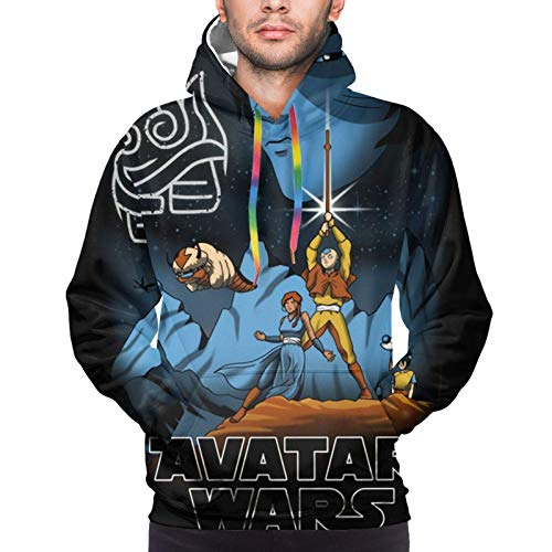 Avatar The Last Airbender/The Legend of Korra Men's 3D Printed Pattern Hoodie Sweater Fashion Long Sleeve Top Hooded Sweatshirts