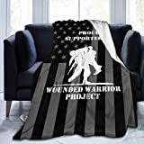 HUXINGXINGzhuangse United States-Wounded-Warrior-Project Warm Throw Blanket Sofa Blanket Ultra-Soft Micro Fleece Blanket Movies Blanket for Bed Couch Living Room