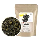 FullChea - Milk Oolong Tea - Oolong Tea Loose Leaf - Taiwan High Mountain Tea Jin Xuan Milk Oolong - Naturally Milky and Silky Aroma - Weight Loss Tea - 4oz / 113g