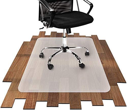 N\\A PRANIT Bürostuhlunterlage 90x90 cm, Kratzfeste PE Bodenschutzmatte, schalldämmende Unterlegmatte für Hartböden (Parkett, Laminat, Fliesen, etc.)