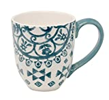 Jumbotasse Becher XXL folkloristische Deko 810 ml aus Keramik Trinkbecher Smoothie Becher Geschenk...