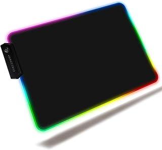 excovip L RGB Juegos Ratón para Juegos Ratón Pad RGB LED,