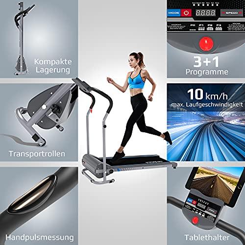 Kinetic Sports KST1900FX Laufband klappbar elektrisch flach 500 Watt - 3