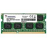 ADATA ノート用増設メモリ PC3L-12800 DDR3L-1600(512x8) 8GB 1.35V 低電圧メモリ 204pin SO-DIMM 無期限保証 ADDS1600W8G11-R