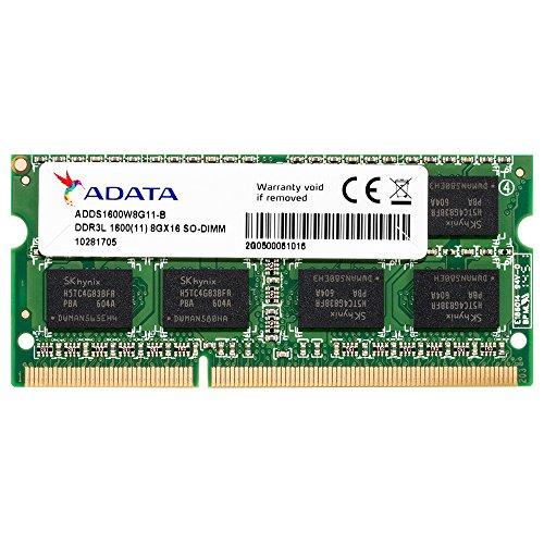 ADATA Premier Series 8GB DDR3L 1600Mhz 204 Pin SO-DIMM Memory Module for Laptop