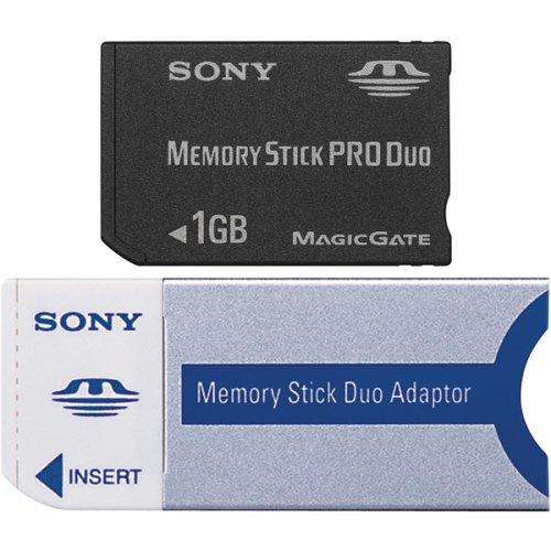 Sony 1 GB Memory Stick PRO Duo Flash Memory Card MSXM1GST