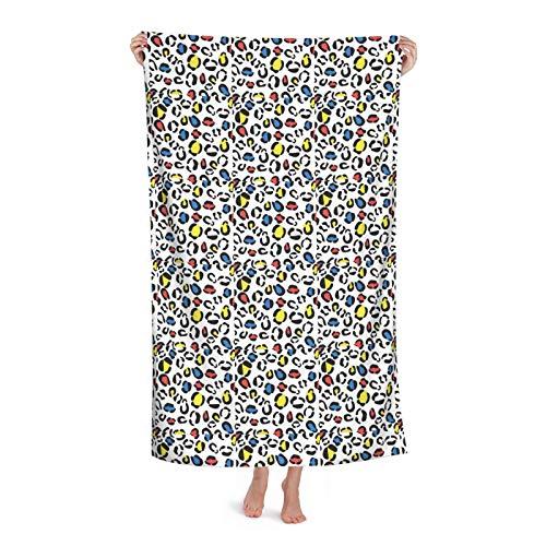 Royalty(1) toalla de secado rápido, superabsorbente, ligera, grande, grande, manta de microfibra para viajes, piscina, baño, 81 x 132 cm