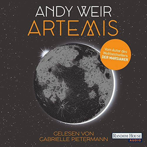 Artemis audiobook cover art