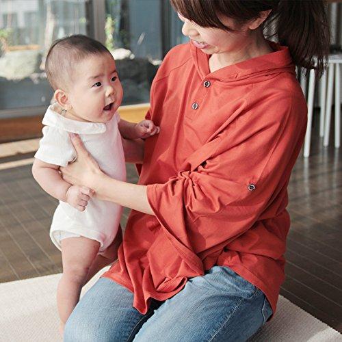 DORACO授乳ケープフードつきポンチョ型人気【巾着付き】助産師が提案360度安心授乳カバー(グレー)