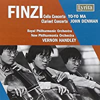Finzi: Cello Concerto; Clarinet Concerto (2007-06-12)