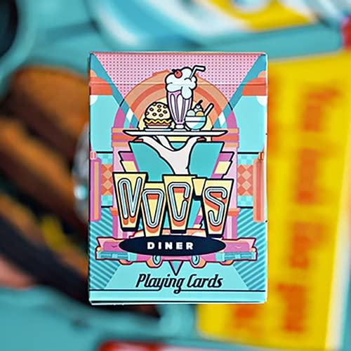 SOLOMAGIA Mazzo di Carte NOC Diner (Milkshake) Playing Cards