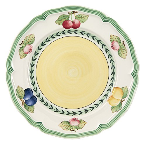 French Garden Fleurence Salad Plate Set of 6 by Villeroy & Boch - 8.25 inches