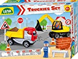 Lena Truckies Set Baustelle 23 teilig
