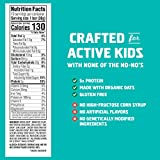 CLIF KID ZBAR - Protein Granola Bars - Chocolate Mint Flavor - (1.27 Ounce Gluten Free Bars, Lunch Box Snacks, 10 Count)