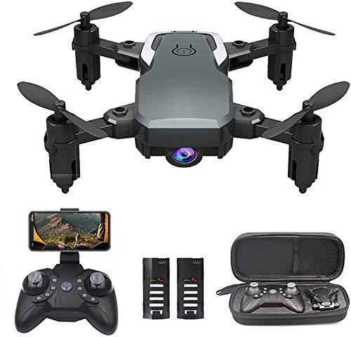 0BEST Drohne mit 1080P Kamera, Zusammenklappbare Drohne mit EIN-Knopf-Start, 3D Taumeln, Telefonsteuerung, Schneller und langsamer Gangschalter (3 Gänge)