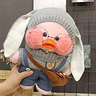 Korean World 30Cm Pink Lalafanfan Plush Stuffed Toys Doll I Cafe Mimi Yellow Duck Plush Toys Girls Toys for Kids Must Have Baby Items Baby Boy Gifts Toddler Favourite