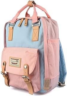 goldwheat School Backpack Water-resistant Laptop Bag for Women Girls Bookbag