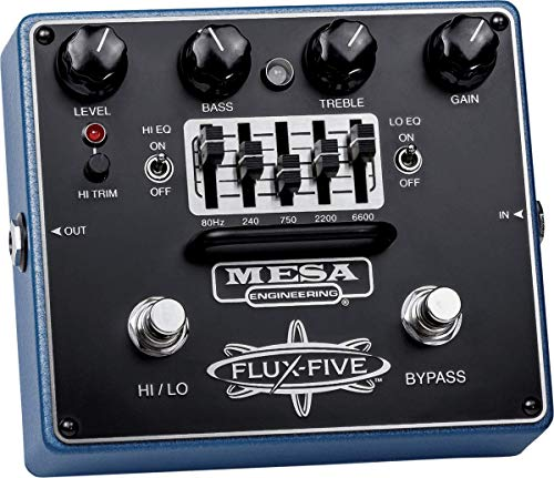 Mesa/Boogie Flux-Five Overdrive Pedal with 5-Band EQ