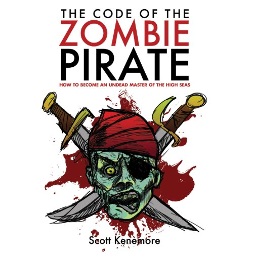 The Code of the Zombie Pirate audiobook cover art