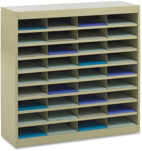 Challenge the lowest price of Japan ☆ List price Safco Products E-Z Stor Literature 72 Compartment 92 Organizer