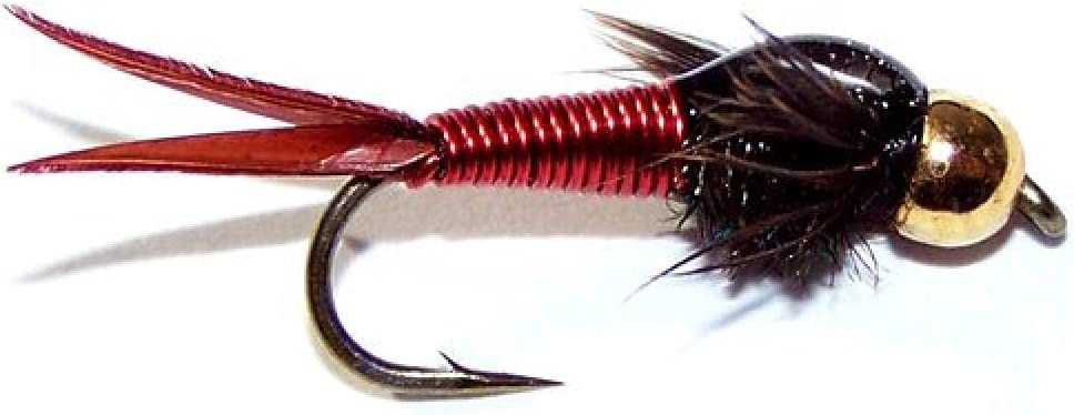 Red Copper John Size 16 Max 53% OFF Bead Head Pa and Fly Clearance SALE! Limited time! Nymph - Trout